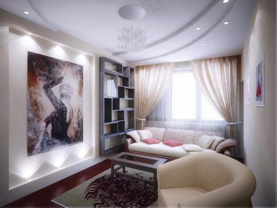 Дизайн интерьера, капитальный ремонт квартиры, электромонтажные работы, освещение в квартире, доме